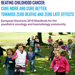 European Elections 2019 Manifesto for Childhood Cancer